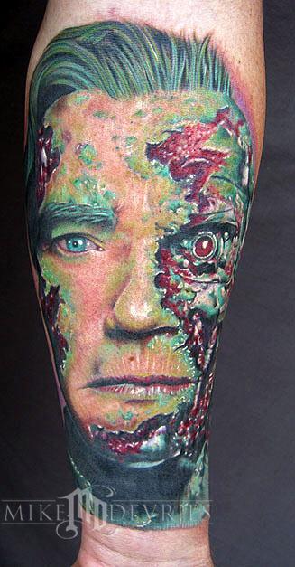 Mike DeVries - Terminator Tattoo